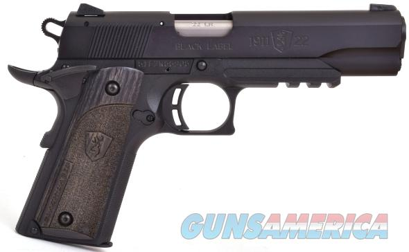 Browning Black Label 1911-22 Compact with Rail .22Lr  Guns