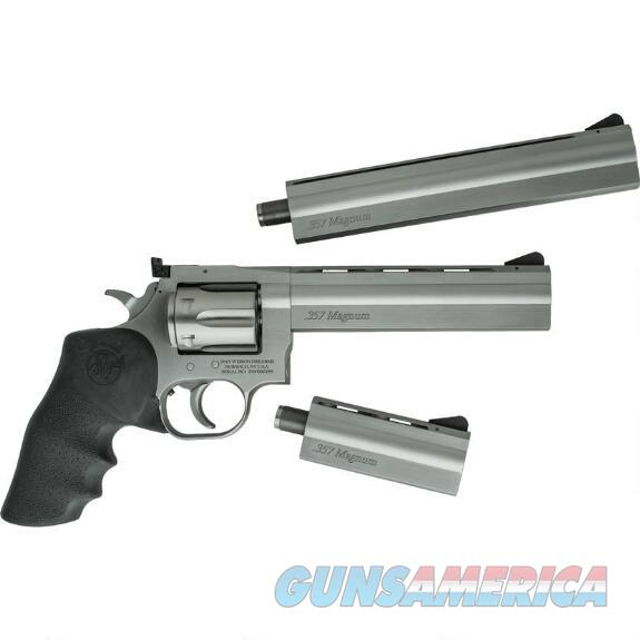 Dan Wesson 715 .357mag Stainless Three Barrel Set 4-6-8in  Guns > Pistols > Dan Wesson Pistols/Revolvers > Revolvers