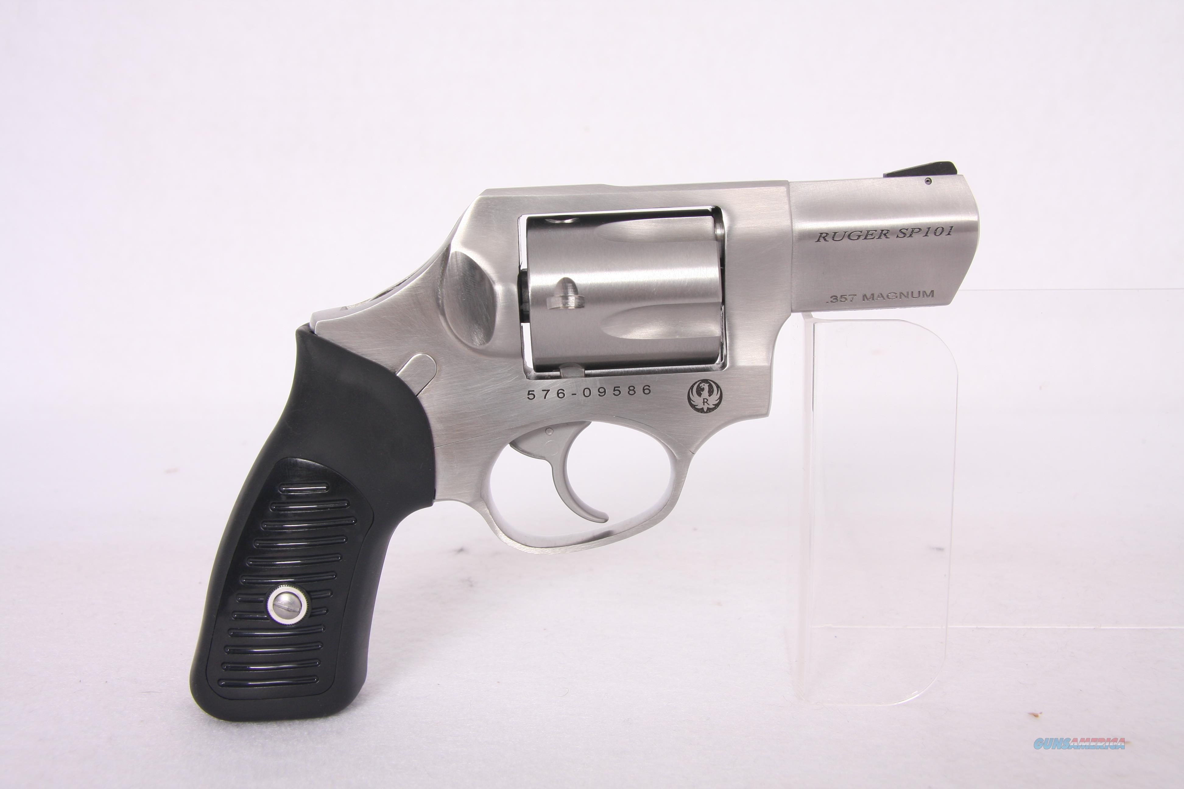 Ruger Sp101 .357mag Spurless  Guns > Pistols > Ruger Double Action Revolver > SP101 Type