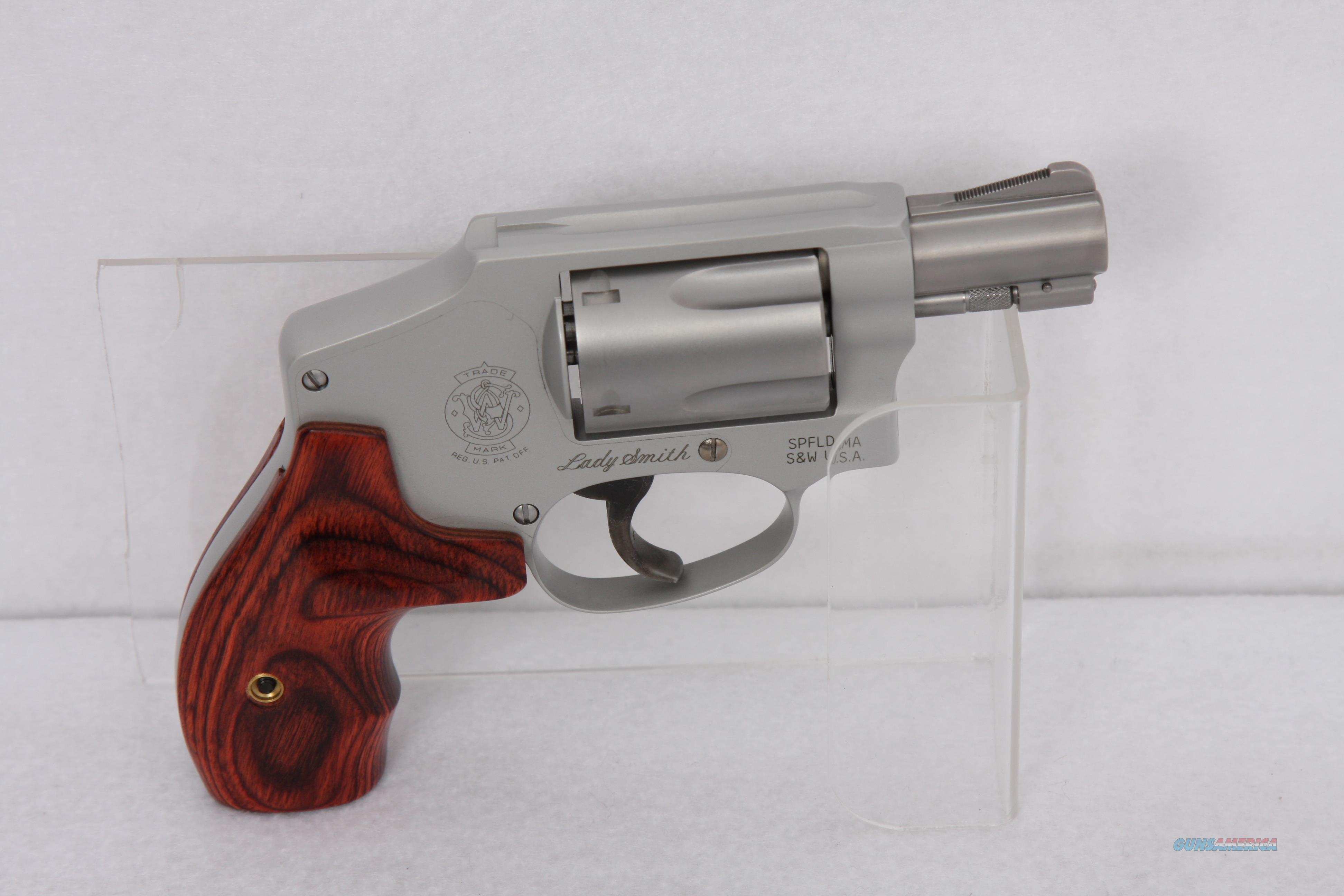 S&W 642LS .38spc SS  Guns > Pistols > Smith & Wesson Revolvers > Small Frame ( J )