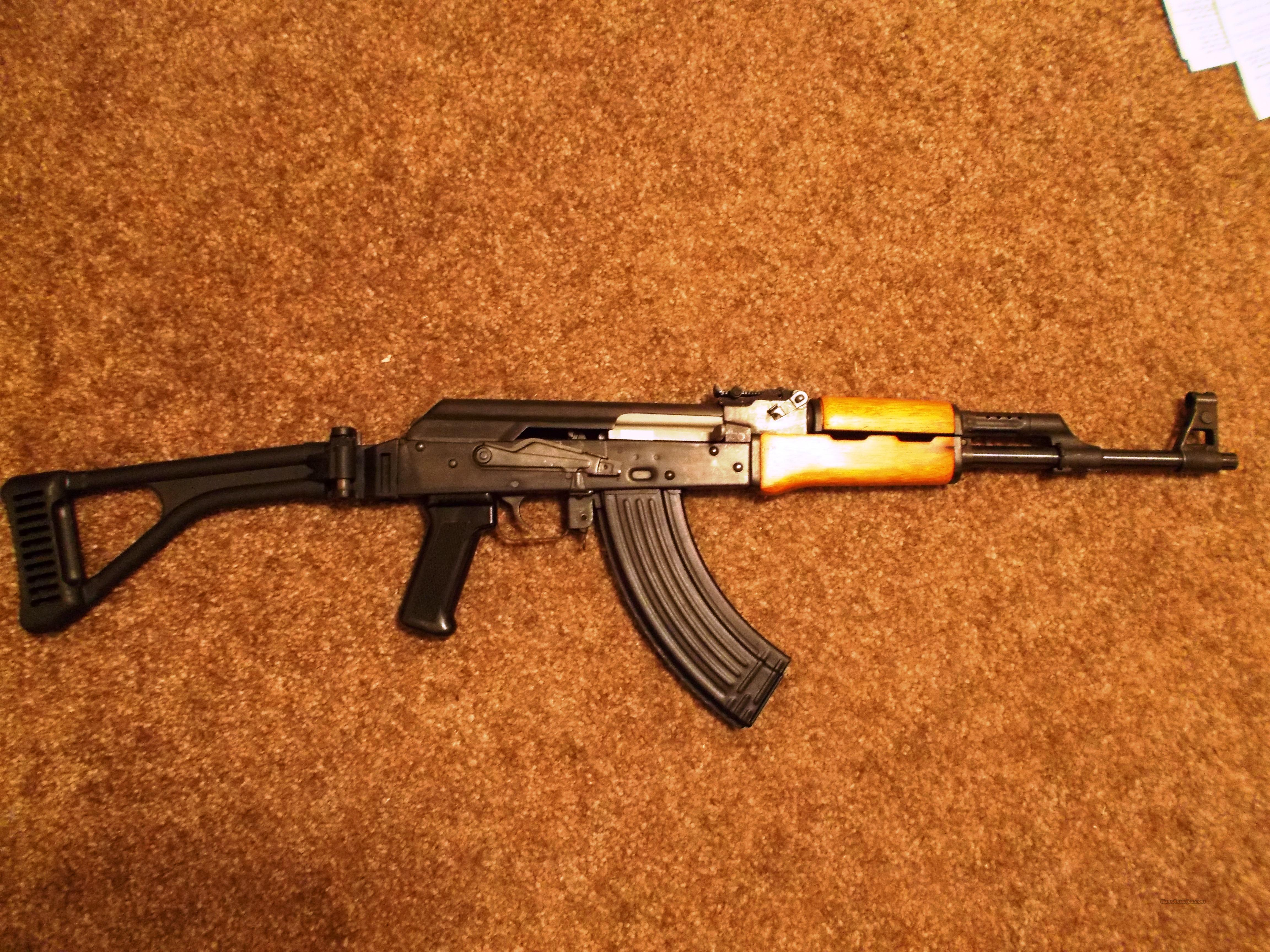 Norinco MAK 90 AK-47 w/ Tapco Folder and U.S. Parts  Guns > Rifles > AK-47 Rifles (and copies) > Folding Stock