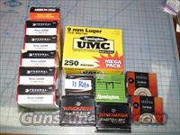Over 600 rounds of new in the box 9 mm Luger FMJ ammo  Non-Guns > Ammunition