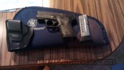 Smith & Wesson M&P Shield 9mm Post Recall with Concealed Carry Accessories  Guns > Pistols > Smith & Wesson Pistols - Autos > Shield