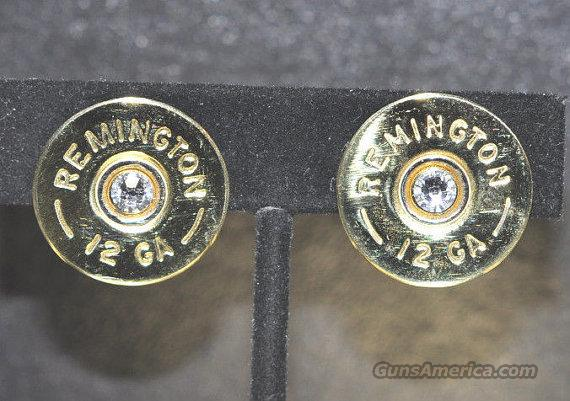 Remington 12 Gauge Shotgun Shell Bullet Earrings   Non-Guns > Shotgun Sports > Clothing