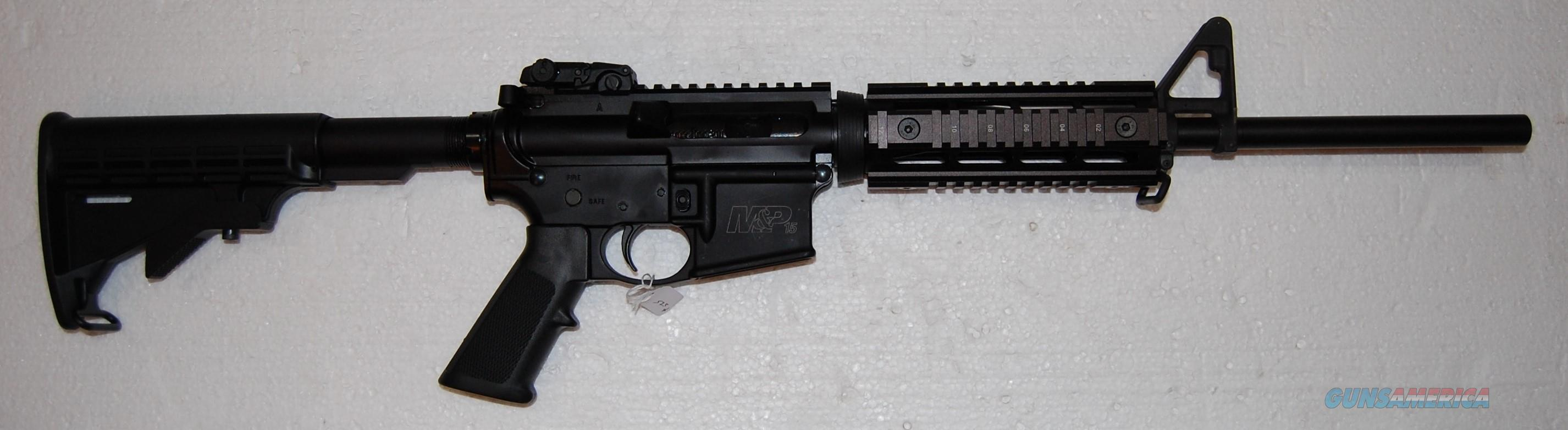 Smith & Wessom M&P 15  Guns > Rifles > Smith & Wesson Rifles > M&P