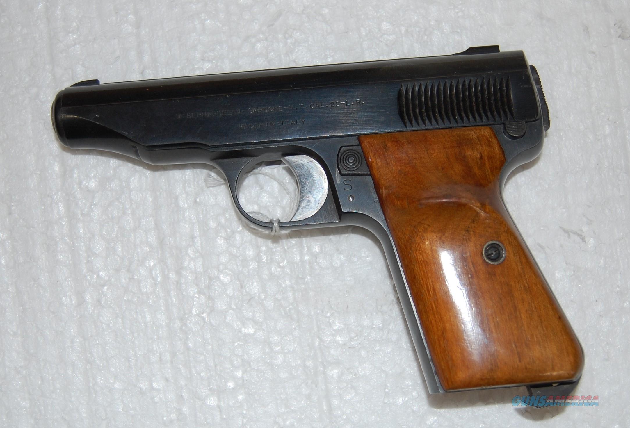 Bernardelli Cardone-V.T.  Guns > Pistols > Bernadelli