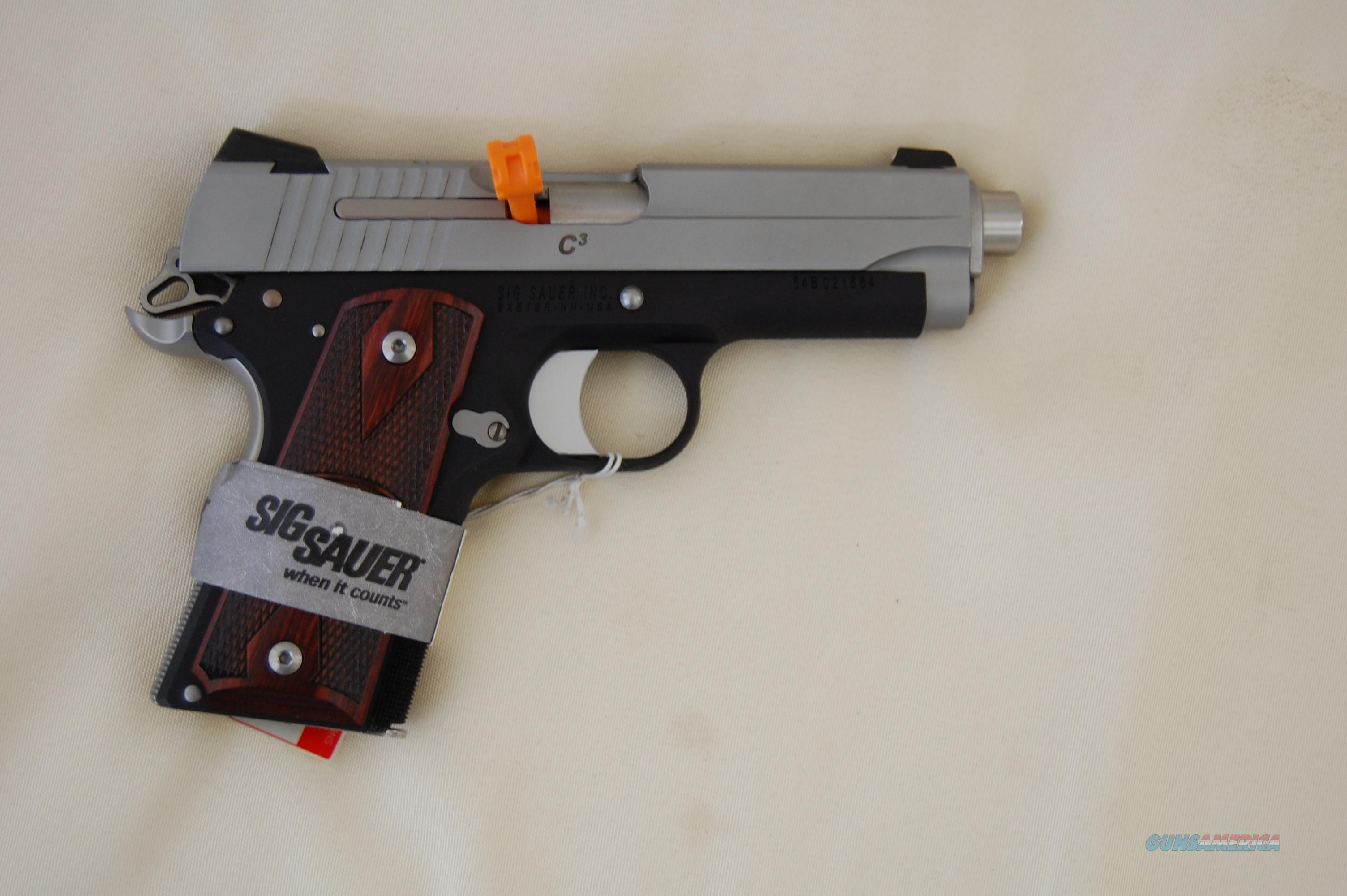 Sig Sauer  Guns > Pistols > Sig - Sauer/Sigarms Pistols > 1911