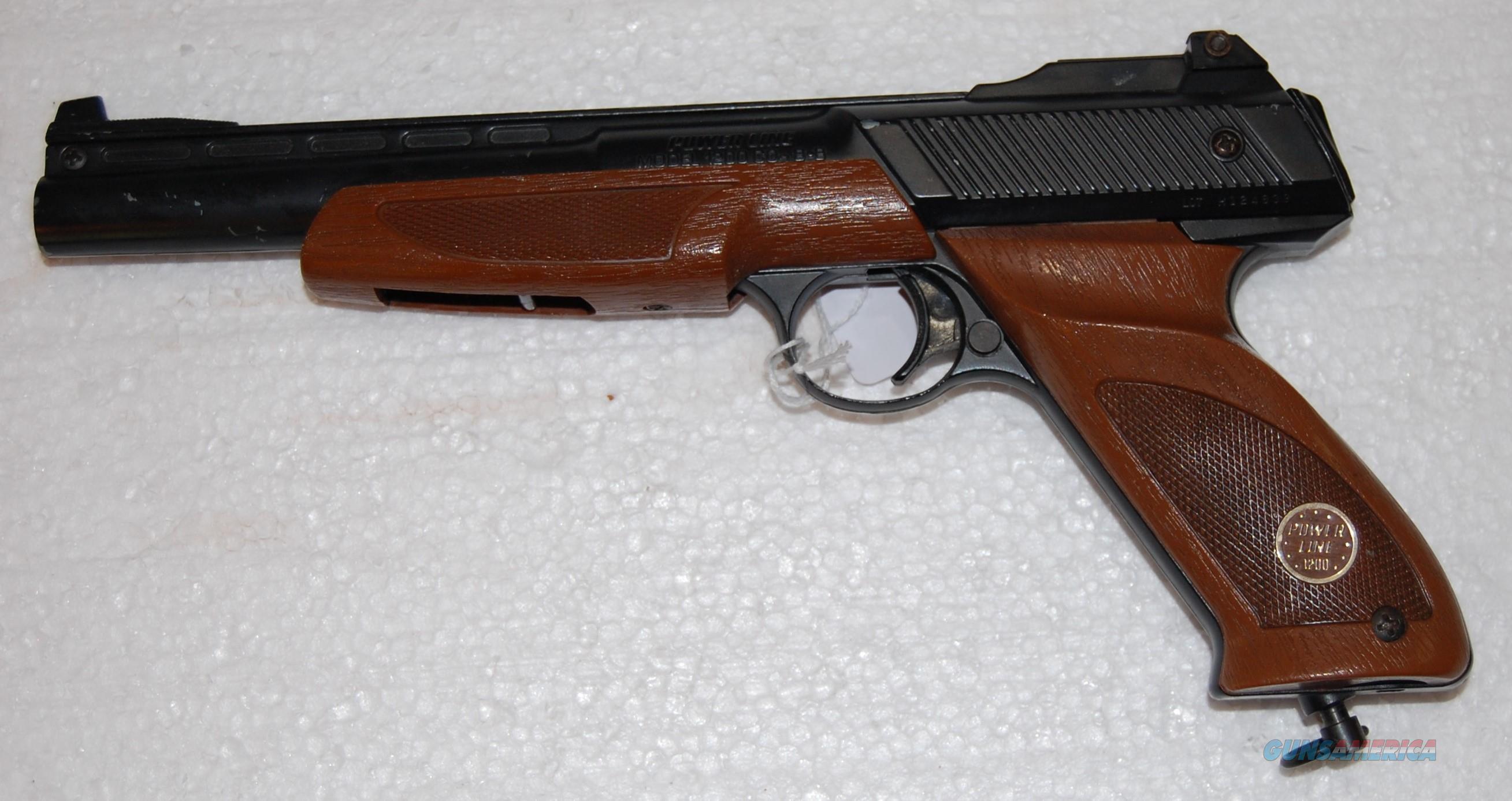 Power Line CO2 pistol  Non-Guns > Air Rifles - Pistols > CO2 Pistol