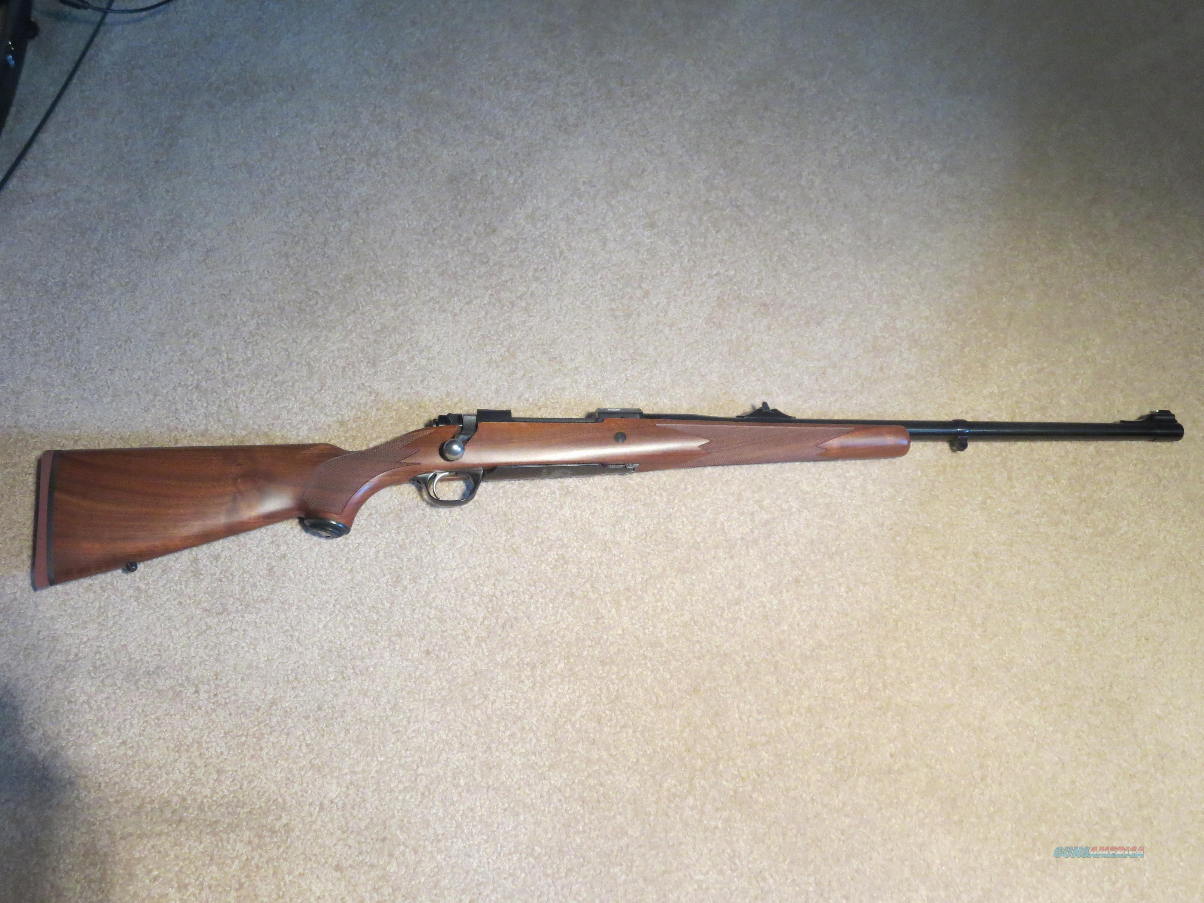 M77 Hawkeye African 9.3x62 American Walnut Stock  Guns > Rifles > Ruger Rifles > Model 77