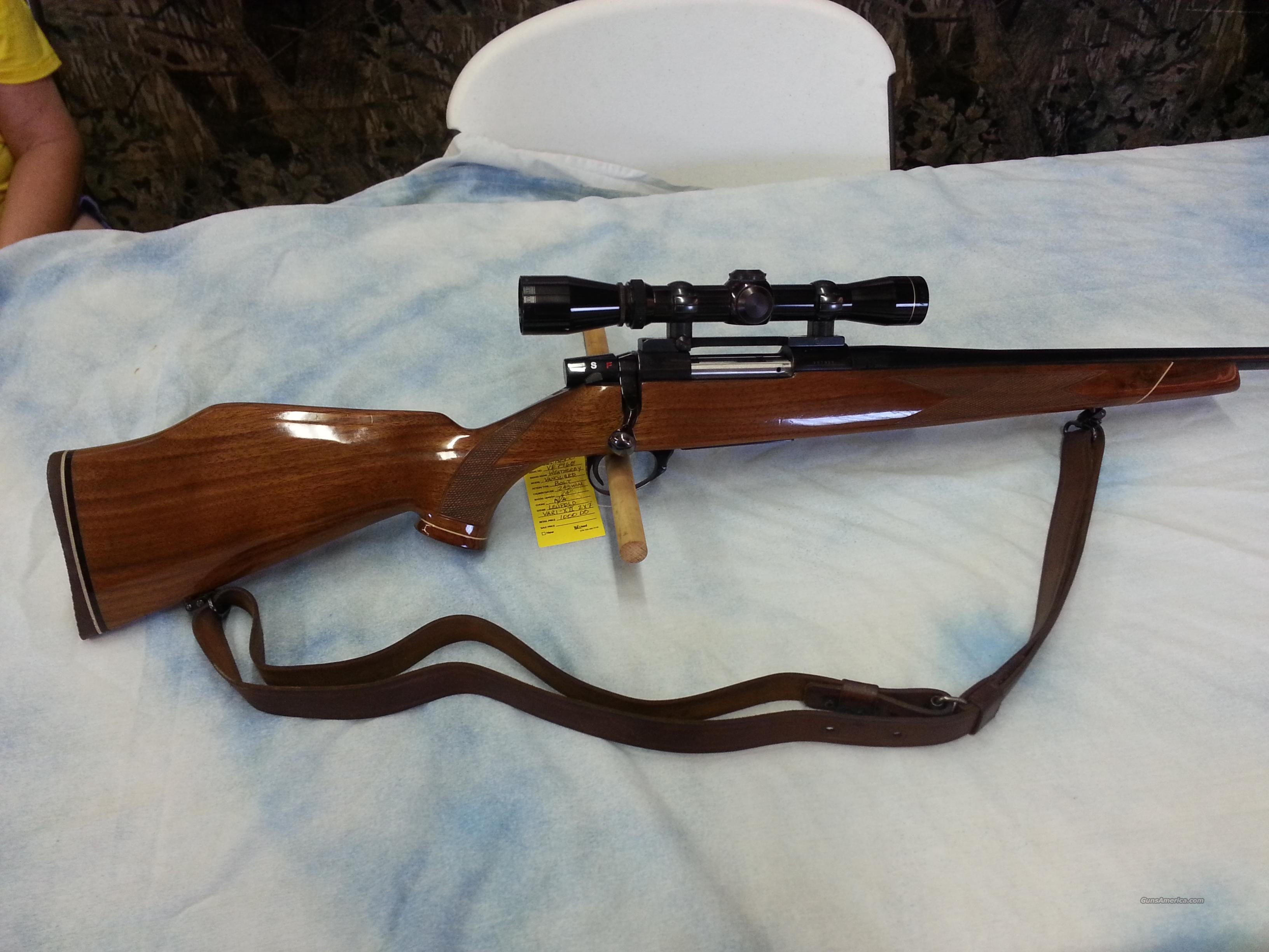 Weatherby Vanguard VGD  Guns > Rifles > Weatherby Rifles > Sporting