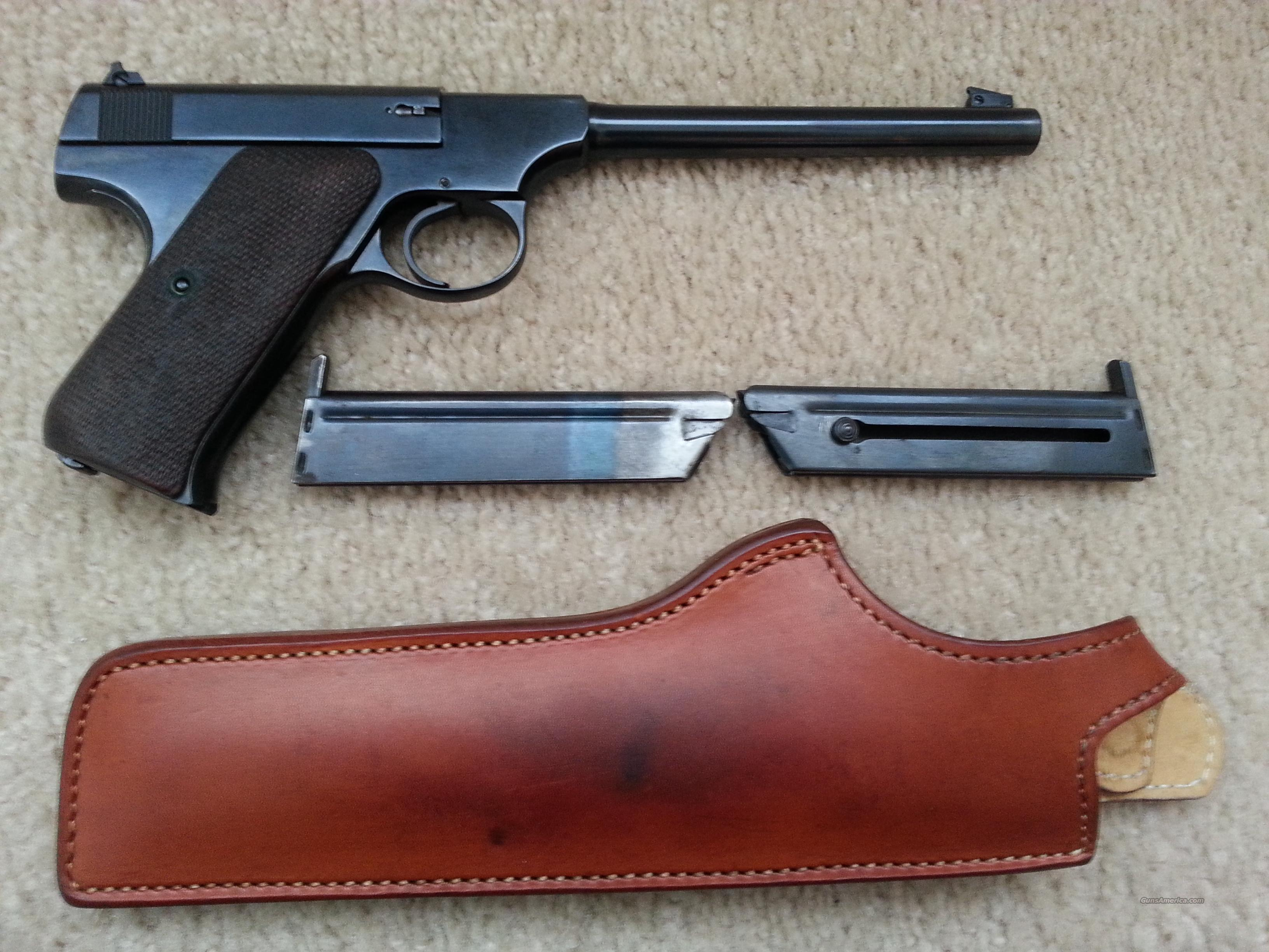 "Colt ""The Woodsman"" w/Holster, Xtra Mag  Guns > Pistols > Colt Automatic Pistols (22 Cal.)"