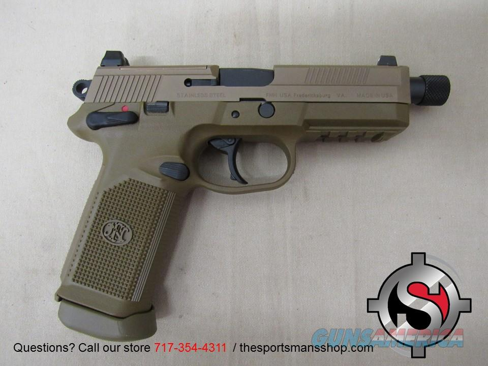 FNH FNX-45 Tactical .45 ACP 5.3 Inch Threaded BBL  Guns > Pistols > FNH - Fabrique Nationale (FN) Pistols > FNX