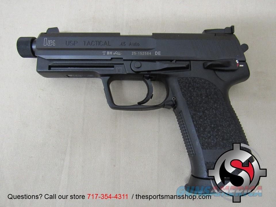Hechler & Koch USP45 Tactical Suppressor Ready  Guns > Pistols > Heckler & Koch Pistols > Polymer Frame