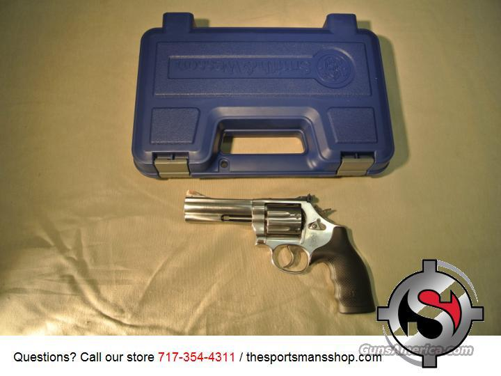 Smith & Wesson 686 Plus .357 Magnum/.38 Special Revolver New  Guns > Pistols > Smith & Wesson Revolvers > Full Frame Revolver