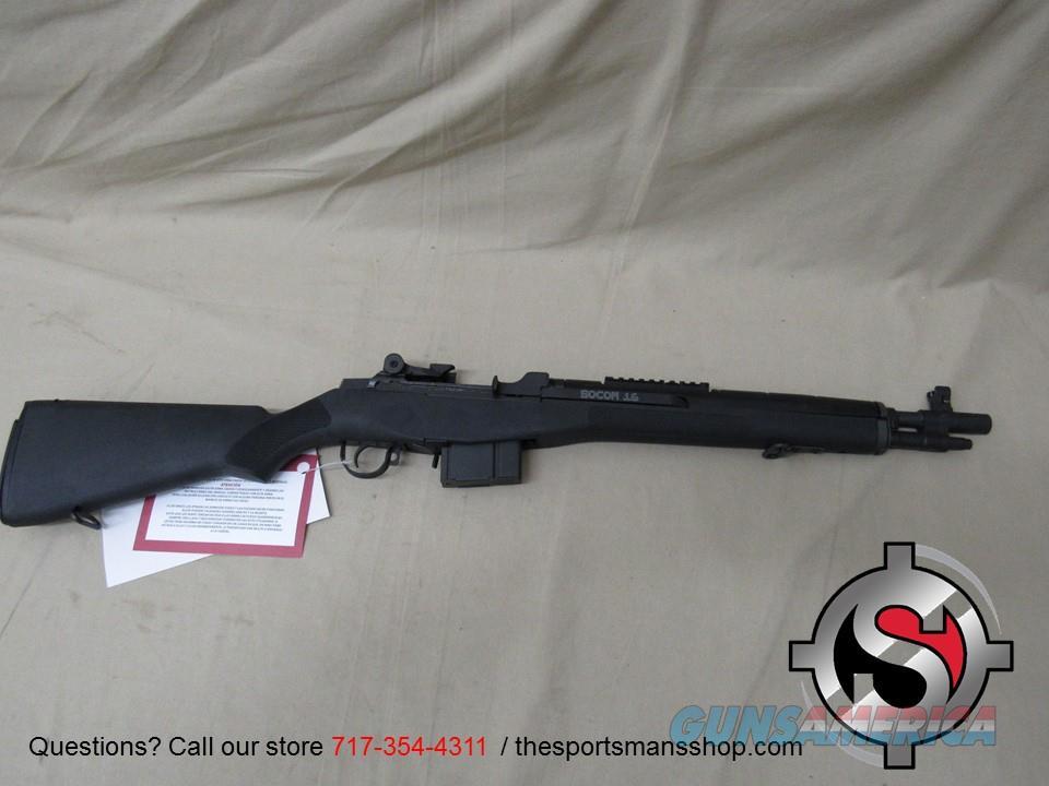Springfield M1A SOCOM 16 7.62x51mm NATO/.308 Win  Guns > Rifles > Springfield Armory Rifles > M1A/M14