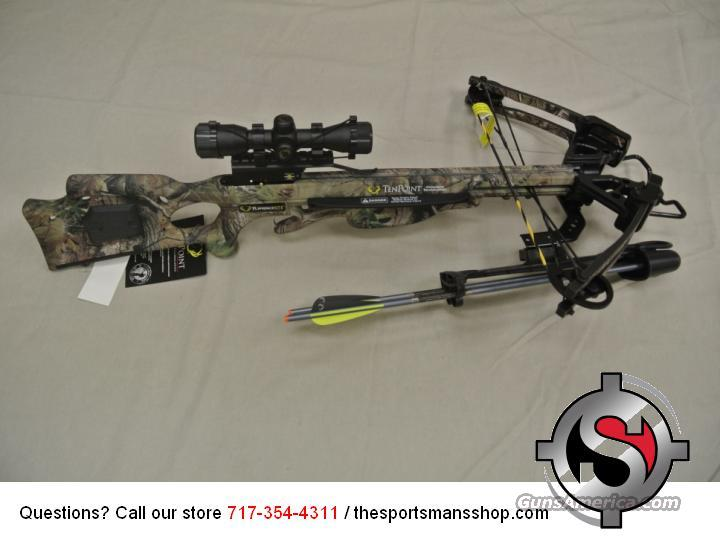 Tenpoint Turbo XLT II Crossbow New  Non-Guns > Archery > Bows > Crossbows