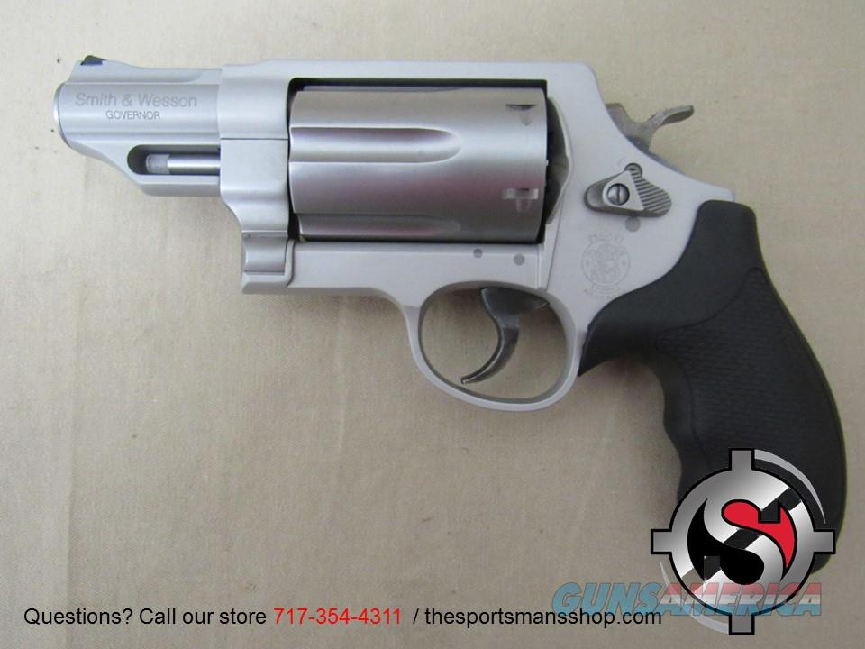 S&W Governor Silver .410 Ga/.45 Colt/.45 ACP  Guns > Pistols > Smith & Wesson Revolvers > Full Frame Revolver