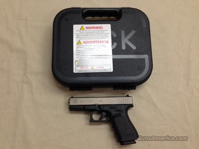 Glock 19 Gen 4 9mm Nickle Boron Finish Pistol NEW  Guns > Pistols > Glock Pistols > 19
