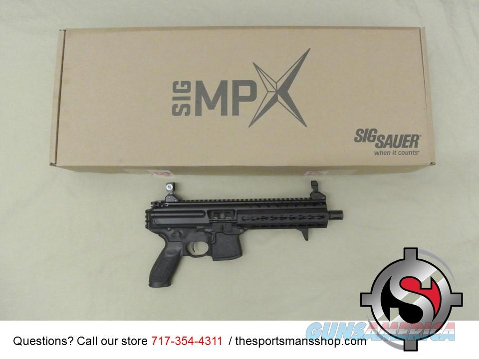 Sig Sauer MPX 9mm Pistol New in Box with Sling Gen 2  Guns > Pistols > Sig - Sauer/Sigarms Pistols > Other