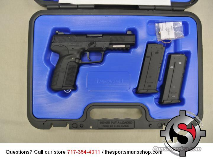 FNH Five Seven Black Pistol MKII 5.7x28mm NEW  Guns > Pistols > FNH - Fabrique Nationale (FN) Pistols > FiveSeven