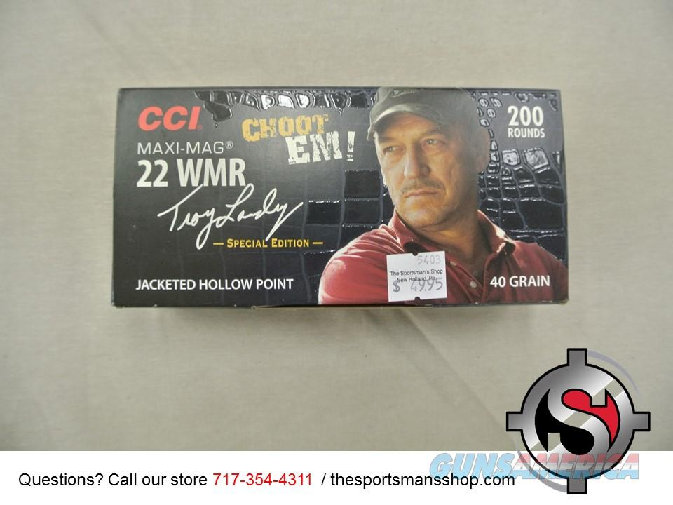 200 rounds CCI 22 WMR Maxi Mags New  Non-Guns > Ammunition