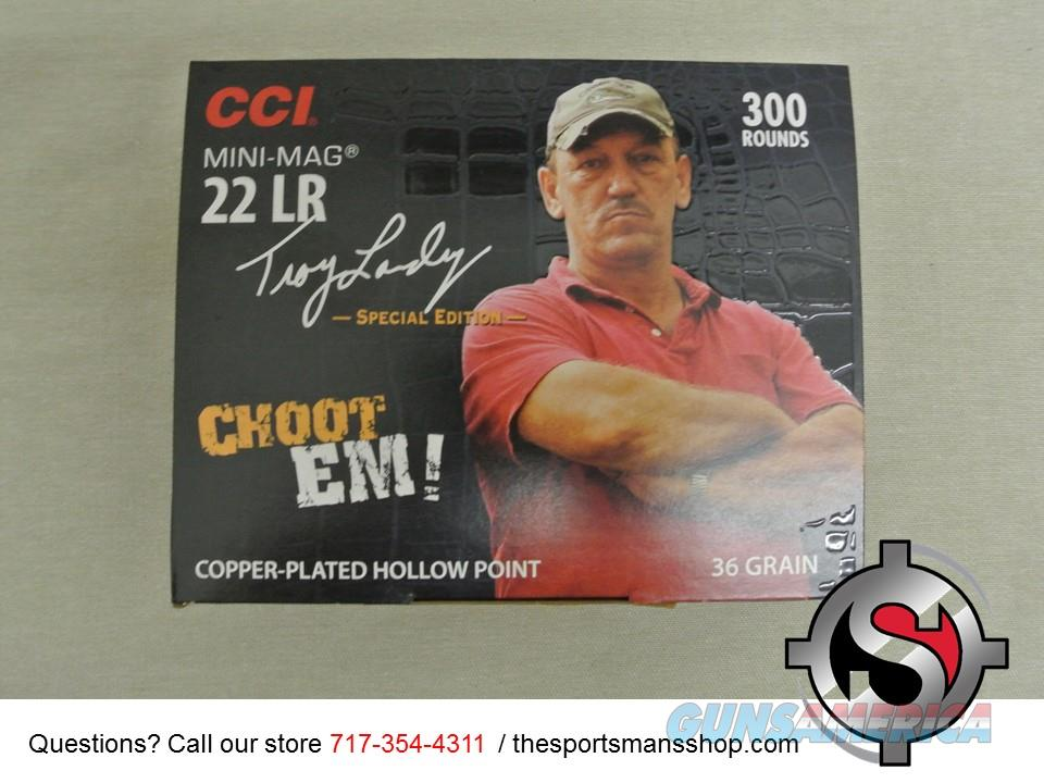 CCI 22LR Mini Mag 300 Rounds Troy Landry Swamp People Ammo New  Non-Guns > Ammunition