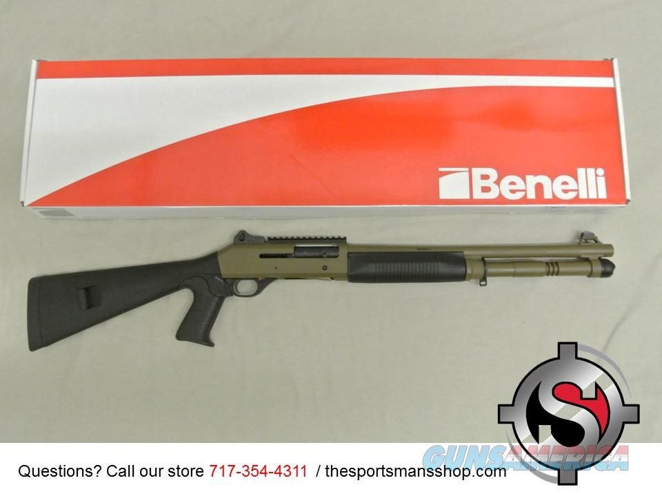 Benelli M4 Tactical 12ga Dark Earth Finish 11791  Guns > Shotguns > Benelli Shotguns > Tactical