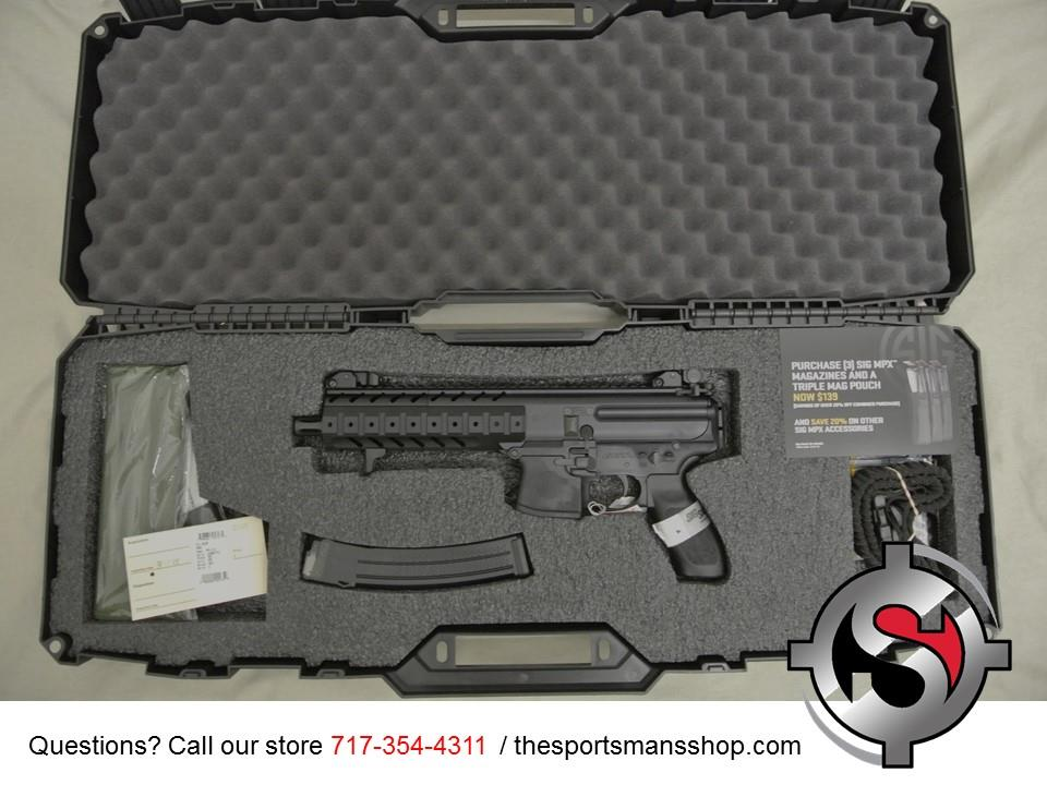 Sig Sauer MPX 9mm Pistol New in Box with Sling  Guns > Pistols > Sig - Sauer/Sigarms Pistols > Other