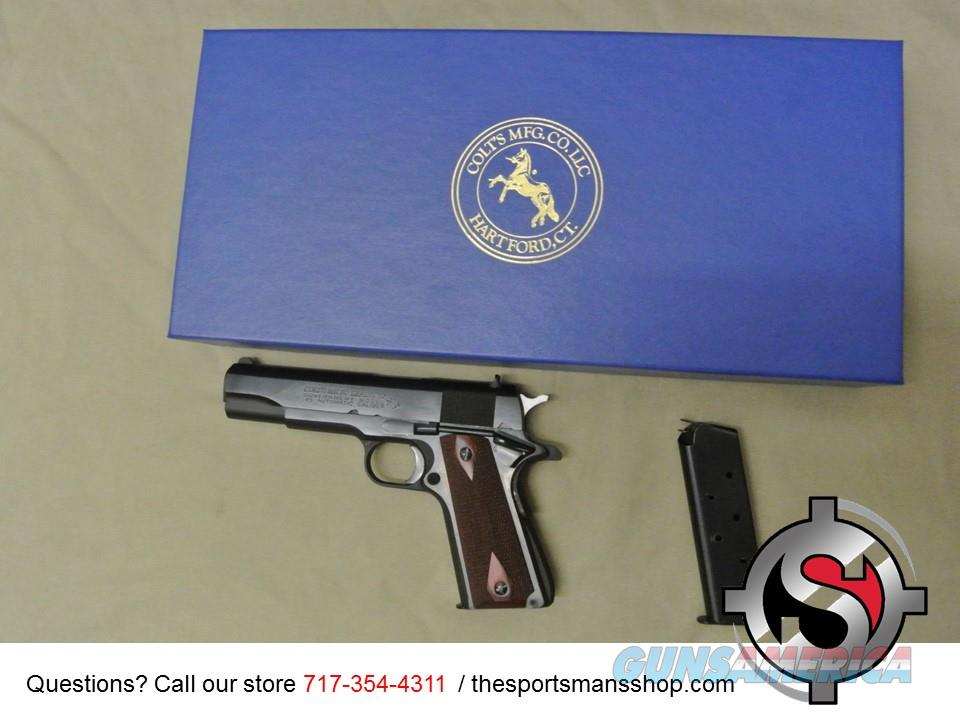 Used Colt 1911 45 ACP Government MKIV w Box 45ACP  Guns > Pistols > Colt Automatic Pistols (1911 & Var)