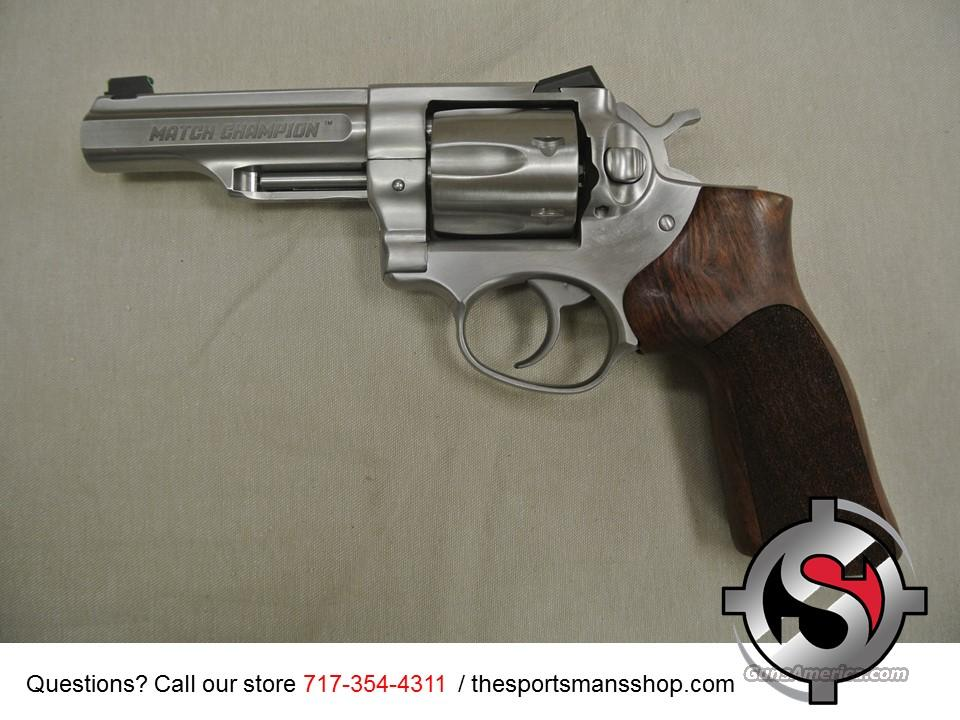 Ruger GP100 Match Champion .357 Magnum Revolver New  Guns > Pistols > Ruger Double Action Revolver > SP101 Type
