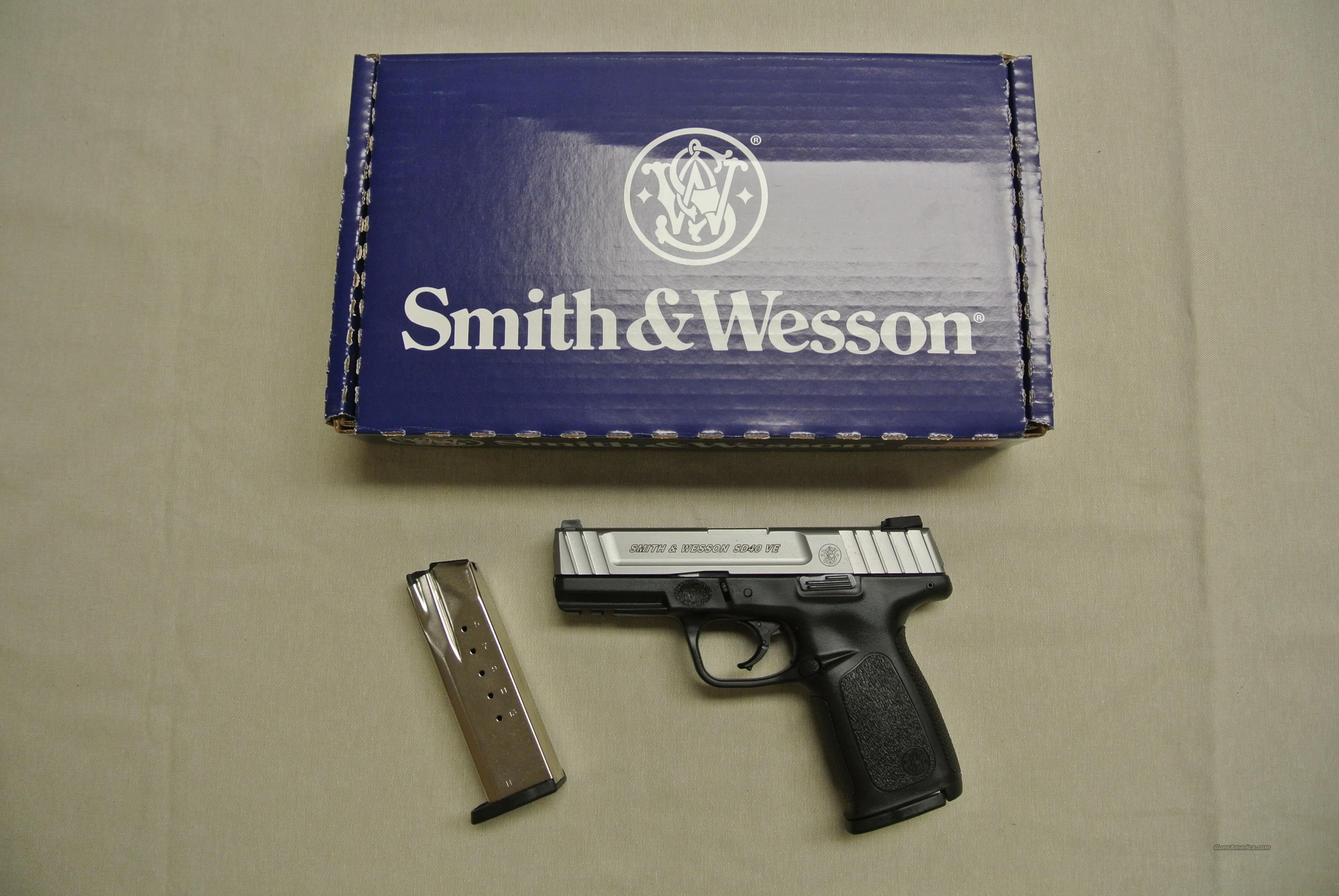 Smith & Wesson SD40VE .40SW Pistol  Guns > Pistols > Smith & Wesson Pistols - Autos > Polymer Frame
