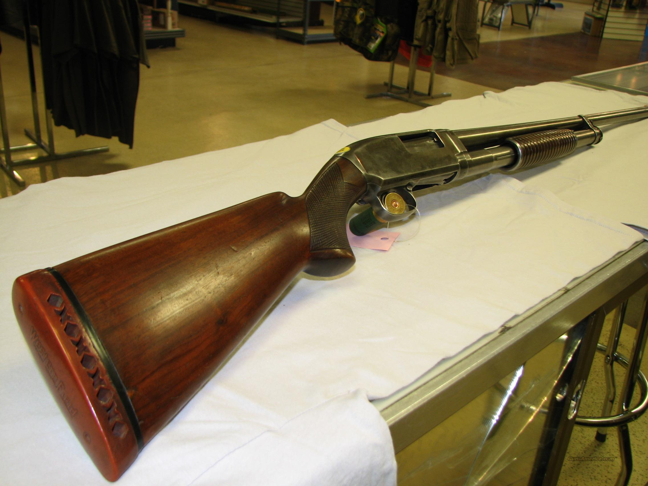 WINCHESTER MODEL 12 12 GA  Guns > Shotguns > Winchester Shotguns - Modern > Pump Action > Hunting