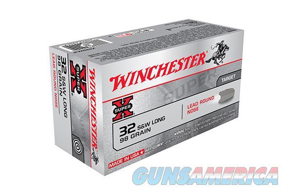 Winchester  32SWL 98GR LRN  200 ROUNDS   Non-Guns > Ammunition