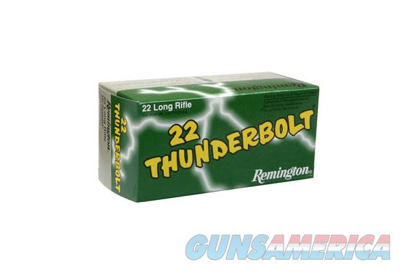 REMINGTON THUNERBOLT 22LR 40GR RN 500RD  Non-Guns > Ammunition