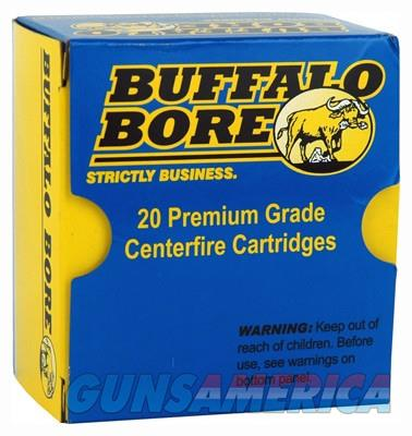 BUFFALO BORE AMMO .32HRM +P 100GR. JHP 20-PACK  Non-Guns > Ammunition