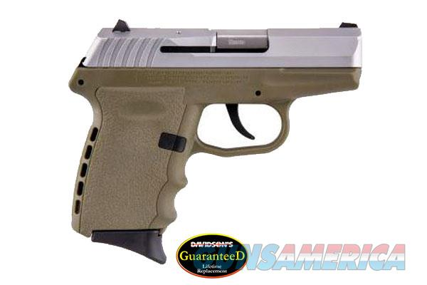 SCCY CPX-2TT 9MM DAO SS/FDE 10R  Guns > Pistols > SCCY Pistols > CPX2