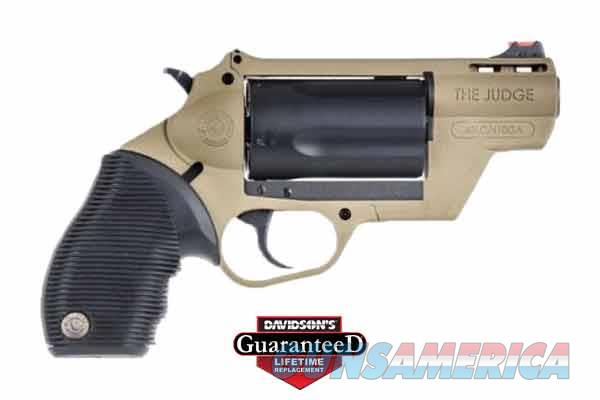 TAURUS 45-410 PDP 45LC/410 2 FDE   Guns > Pistols > Taurus Pistols > Revolvers