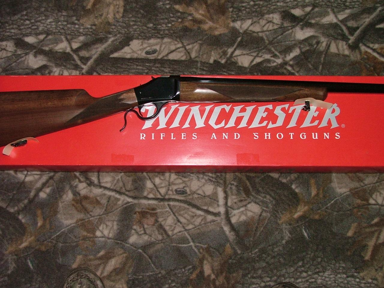 WINCHESTER MODEL 1885 HIGH WALL HUNTER 325 WSM  Guns > Rifles > Winchester Rifles - Modern Bolt/Auto/Single > Model 70 > Post-64