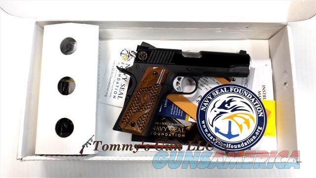 Ruger SR1911 45ACP 6704 Navy Seal Foundation NIB  Guns > Pistols > Ruger Semi-Auto Pistols > 1911