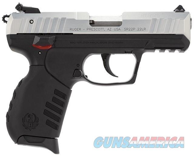 Ruger 3607 SR22 Silver Anodized 22LR 10+1 NEW  Guns > Pistols > Ruger Semi-Auto Pistols > SR Family > SR22