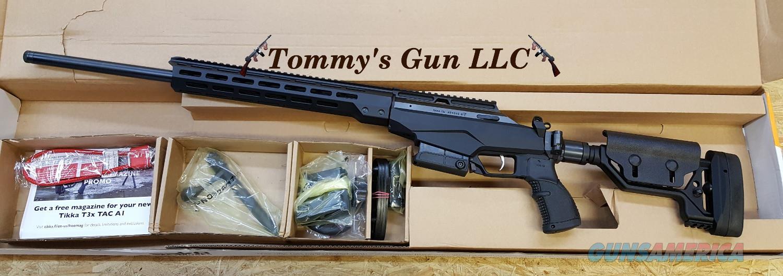 """Tikka T3X TAC A1 6.5 Creed 24"""" JRTAC382L NIB  Guns > Rifles > Tikka Rifles > T3"""