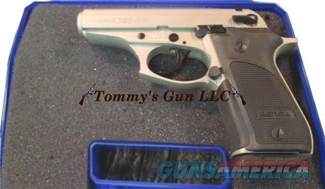 Bersa Thunder 380 Nickel Plus 15rd BRAND NEW  Guns > Pistols > Bersa Pistols