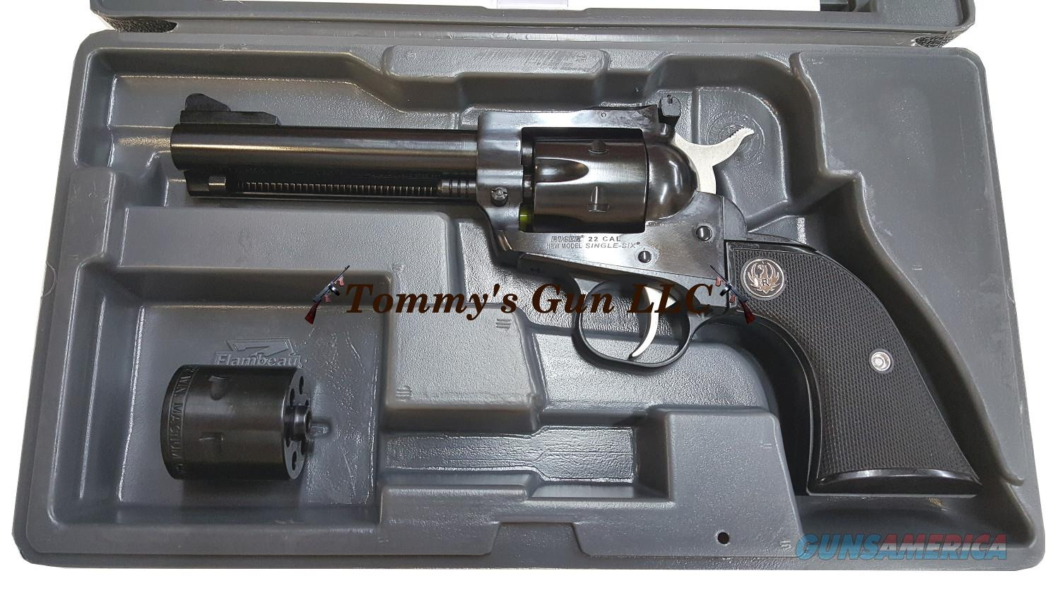Ruger Single Six 22lr/22mag 0623 Convertible NIB  Guns > Pistols > Ruger Single Action Revolvers > Single Six Type