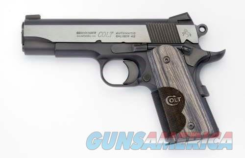 Colt Blue Wiley Clapp Commander TALO 45AP O9840WC  Guns > Pistols > Colt Automatic Pistols (1911 & Var)