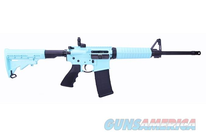 Ruger AR-556 223 Rem/5.56 NATO TURQUOISE BLUE New in Box  Guns > Rifles > Ruger Rifles > AR Series