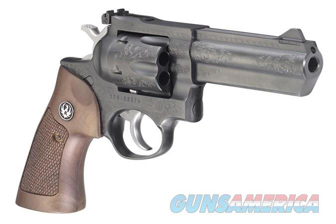 Ruger GP100 Deluxe Engraved 357 Mag/38 Sp New in Box  Guns > Pistols > Ruger Double Action Revolver > GP100