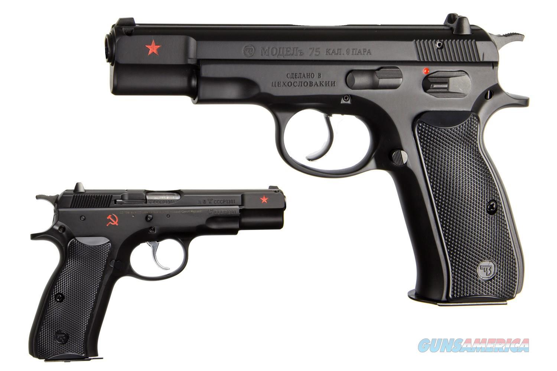 CZ-USA CZ 75B Cold War 9mm New in Box  Guns > Pistols > CZ Pistols
