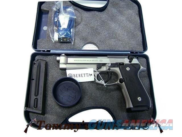 Beretta 92FS INOX JS92F520 10rd 9mm NIB  Guns > Pistols > Beretta Pistols > Model 92 Series
