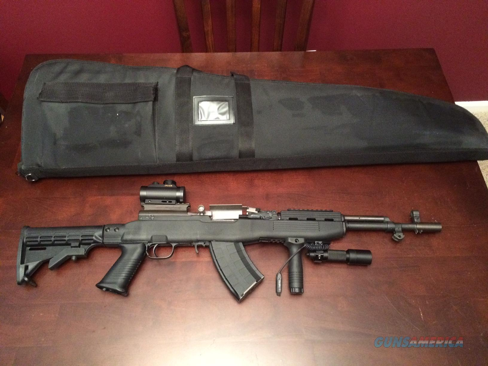 Custom Tactical SKS Rifle tons of EXTRAS Chinese Model   Guns > Rifles > SKS Rifles