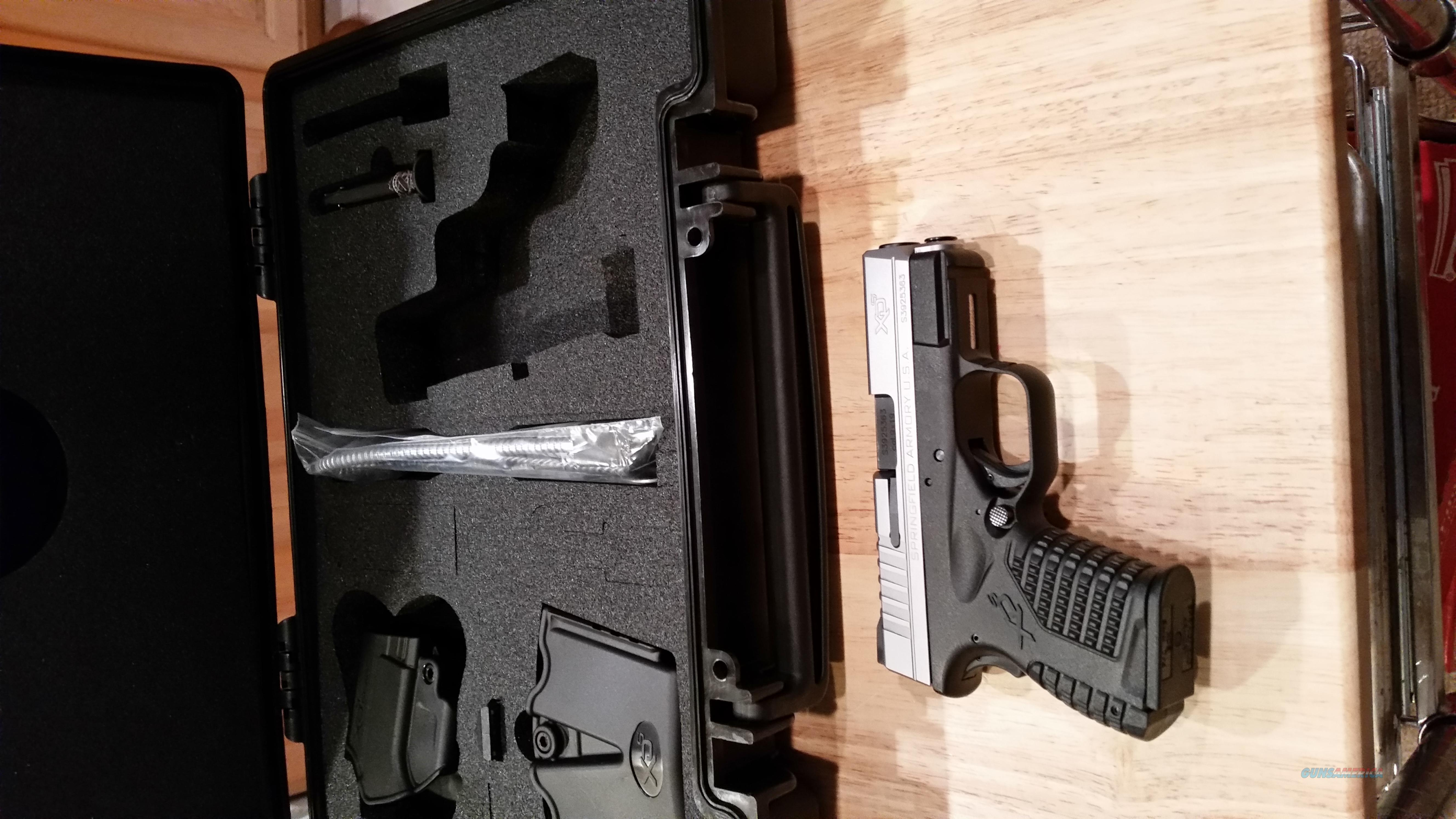 Springfield XDs Sub-Compact  Guns > Pistols > Springfield Armory Pistols > XD-S